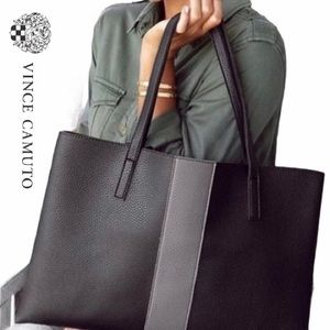Vince Camuto 'Luck' Vegan Leather Tote